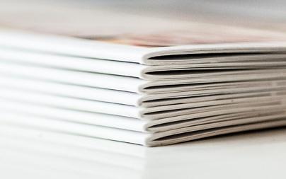 Grafiker für Broschüren